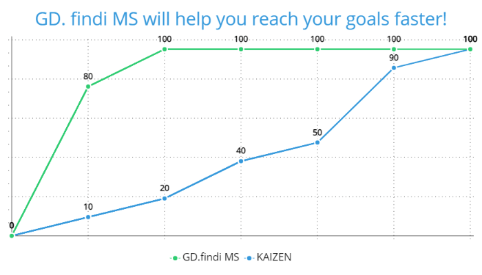 GD. findi MS will help you reach your goals faster!